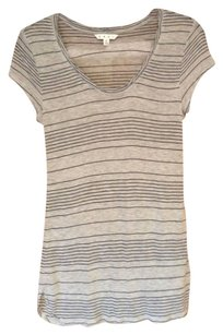 CAbi Strips Ahoy T Shirt Navy and gray