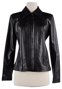 Cache Womens Solid Black Jacket