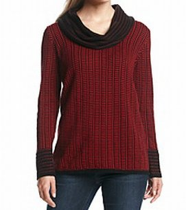 Calvin Klein 100% Cotton Cowl Neck Sweater