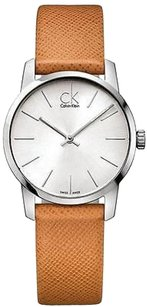 Calvin Klein Calvin Klein Ck City Leather Ladies Watch K2g23120