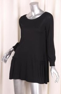 Calvin Klein Collection short dress Black Womens Scoopneck Knit Shift on Tradesy