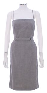 Calvin Klein Gray Wool Polymide Dress