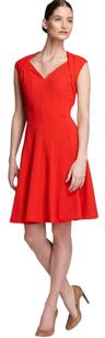 Calvin Klein Swing A-line Classic V-neck Dress