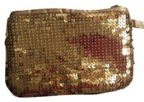 Candie's Candies gold sequin wristlet