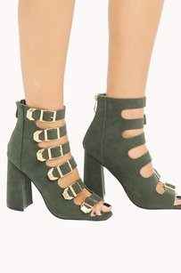 Cape Robbin 410003672980 Green Sandals