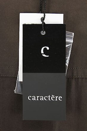 85%OFF Caractère Caractere Womens Blouse Brown Silk -