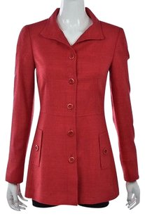 Carlisle Womens Basic Red Jacket