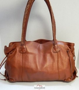 Carlos Falchi Pearlized Shoulder Bag