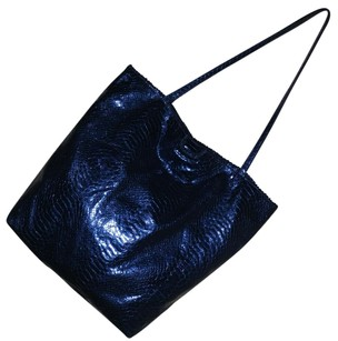 Carlos Falchi Tote in Blue