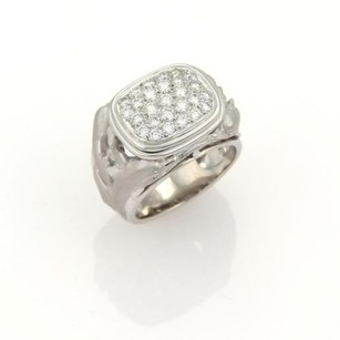 Carrera y Carrera Carrera Y Carrera Diamonds 18k White Gold Dolphin Ring -size