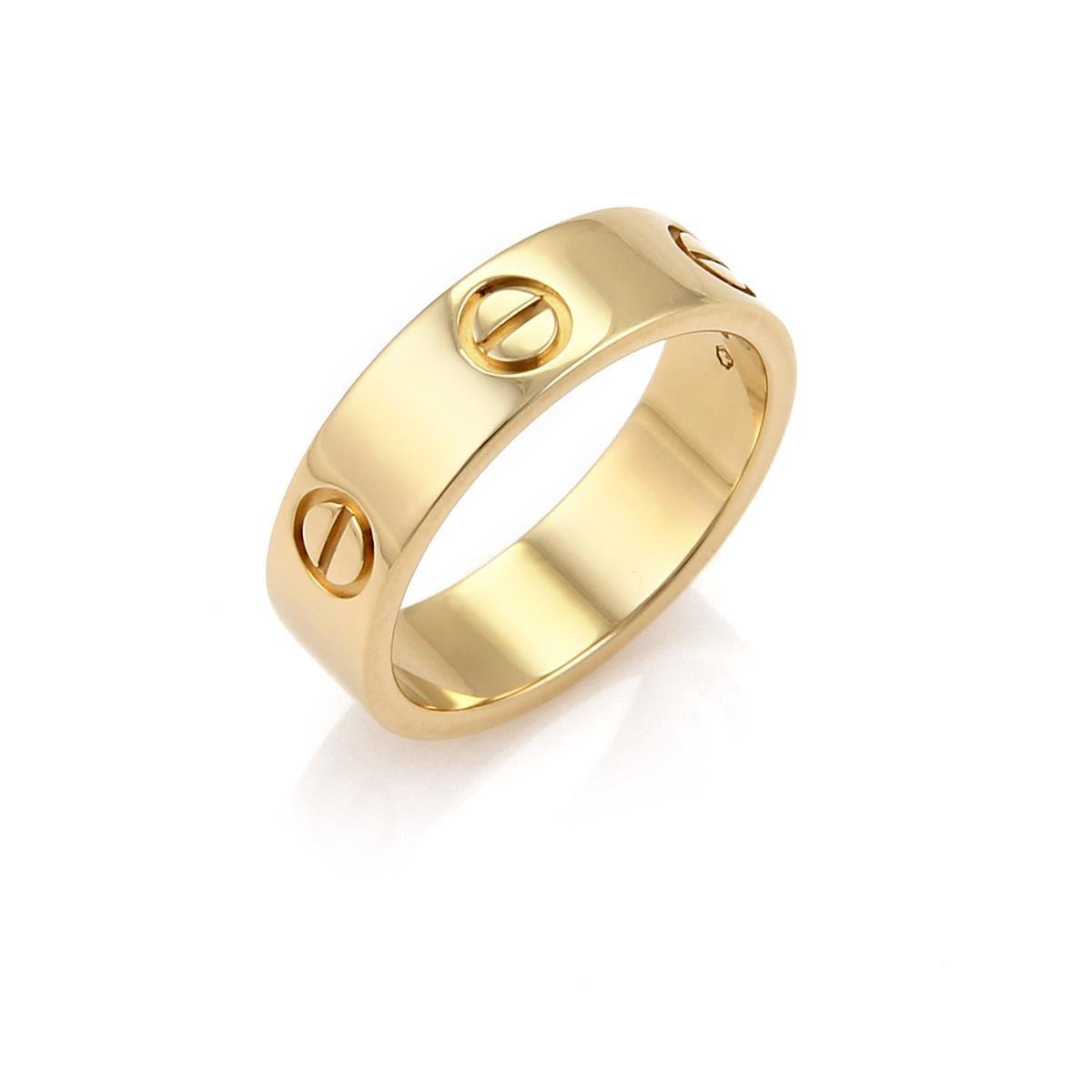 Cartier Gold Love Rings Up to 70 off at Tradesy