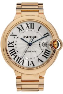 Cartier Cartier 18K Rose Gold Ballon Bleu Automatic Watch W69006Z2