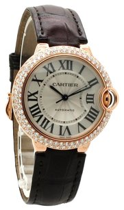 Cartier Cartier 18K Rose Gold Ballon Bleu Custom Diamond Unisex Watch