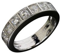 Cartier Cartier 18K White Gold Diamond Band Ring US SIZE 9