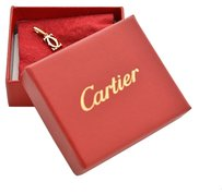 Cartier Cartier 18K Yellow Gold 2 C Logo Charm