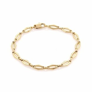 Cartier Cartier 18k Yellow Gold Fancy Open Link Bracelet