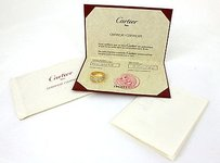 Cartier Cartier 18k Yellow Gold1.60ctw Diamond Ring With Certificate