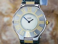 Cartier Cartier 21 Stainless Steel Ladies Dress Watch Swiss Made Quartz J802