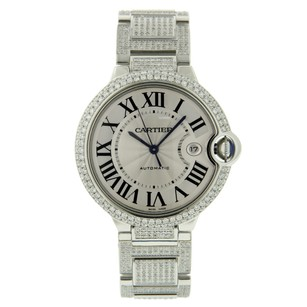 Cartier Cartier Ballon Bleu Iced-Out-42mm Mint Roman Numeral