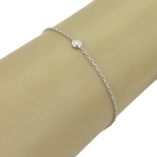 Cartier Cartier Diamant Leger De Cartier Diamond 18k Gold Chain Link Bracelet - Cert
