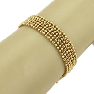 Cartier Cartier Draperie De Decolette 18k Yellow Gold Six Beaded Strand Bracelet
