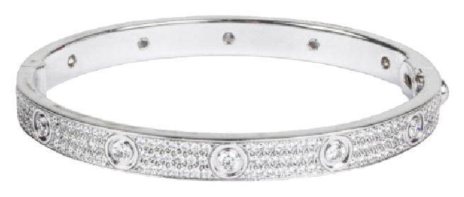 Cartier Diamond Love Bracelets Up to off at Tradesy