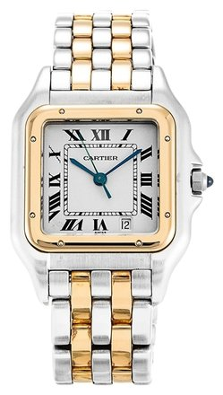 Cartier CARTIER PANTHERE W25028B6 STEEL AND YELLOW GOLD LADIES WATCH