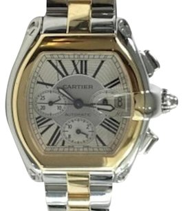 Cartier Cartier Roadster Two-Tone 18kt Yellow Gold and Steel XL