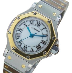 Cartier Cartier Santos Luxurious Ladies Swiss Automatic 18k And Stainless Steel Watch Q9