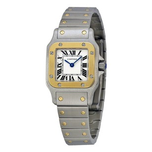 Cartier Cartier Santos Two-Tone Ladies Watch W20012C4