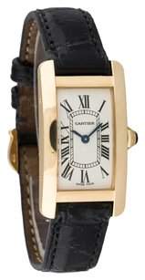 Cartier CARTIER TANK AMERICAINE 18K YELLOW GOLD LADIES WATCH