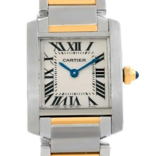 Cartier Cartier Tank Francaise Small Steel 18k Yellow Gold Watch W51007Q4