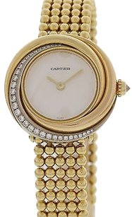 Cartier Ladies Cartier Trinity 18k Yellow Gold Diamond 2357
