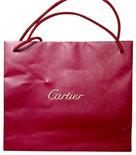 Cartier Gift Shopping Tote in Red