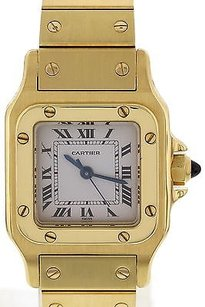 Cartier Ladies Cartier Santos Automatic 18k Yellow Gold Watch 090103283