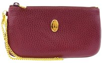 Cartier Must De Cartier Chain Pouch Bag Wallet Leather