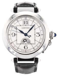 Cartier Pasha XL 42mm W3109255 Stainless Steel Automatic Wrist Watch for Men CRTSP41