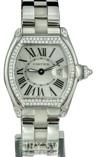 Cartier Cartier Lady Roadster Stainless Steel Diamond Bezel 32mm -Pre-Owned