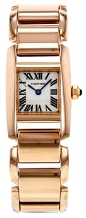 Cartier Women's Small Tankankissime W650048H 18K Rose Gold Watch CRTTKR