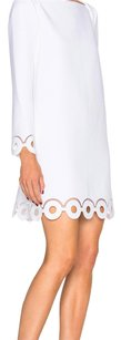 Carven relief crepe white dress size 38 Dress