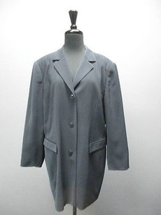 Caslon Navy Long Sleeved Button Down Suit Sm5424 Blue Brown White Jacket