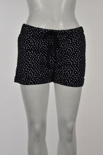 Caslon Womens Polka Dot Shorts Black