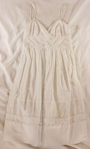 Catherine Malandrino short dress White on Tradesy