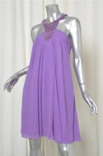 Catherine Malandrino short dress Purple Womens on Tradesy