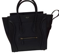 Cline Celine Calfskin Mini Tote in Black