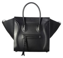 Céline Celine Phantom Luggage Tote in Black