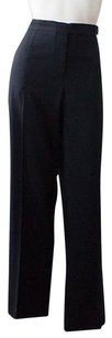 Céline Wool Blend Flat Front Trousers Hs1373 Pants
