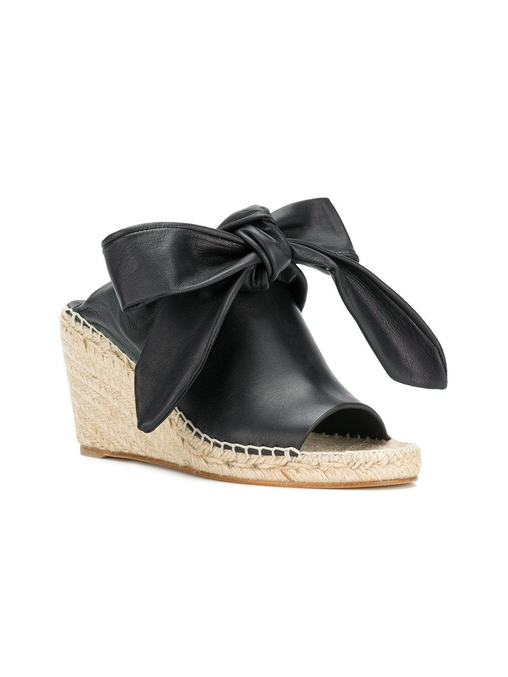 Céline Espadrille Nappa Lamb and Calf Wedges Size EU 38 (Approx. US 8) Regular (M, B)
