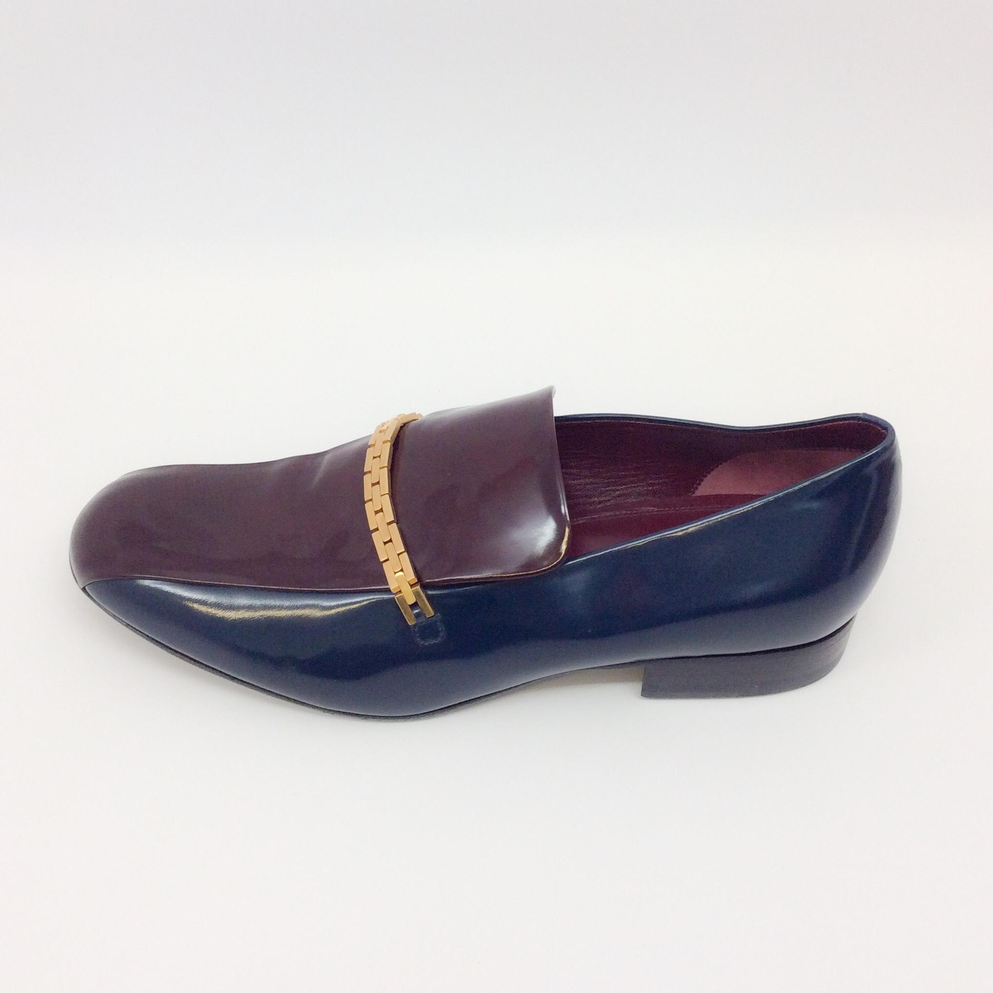 Céline Navy Loafers