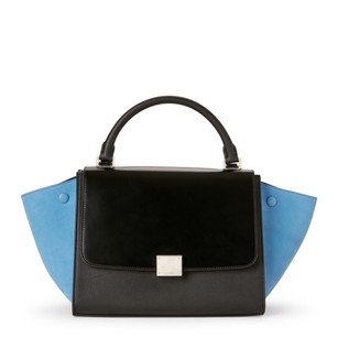 Céline Satchel in Black & Blue